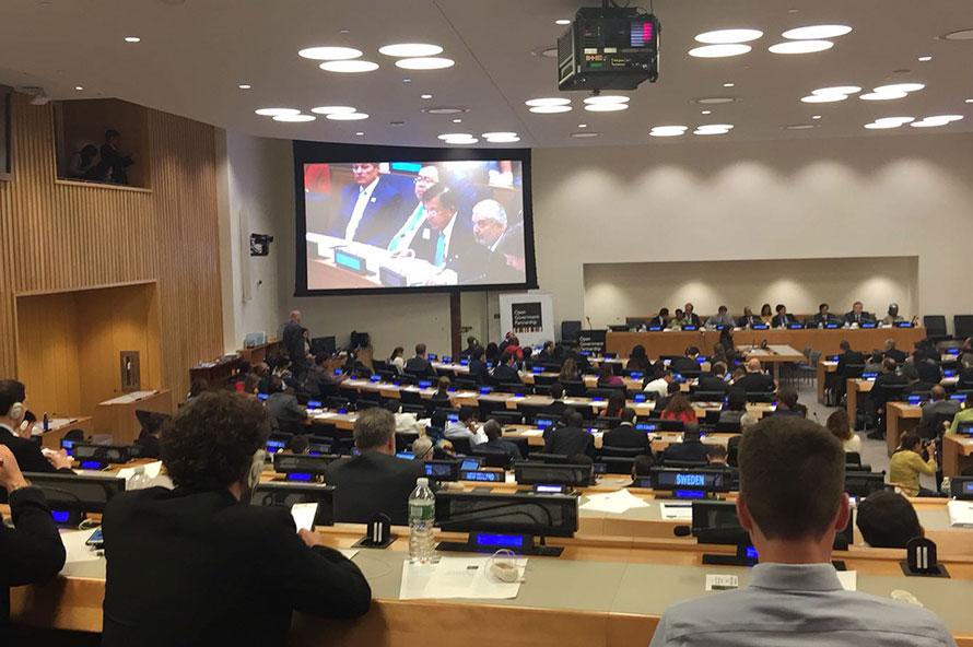 Dyntra asiste al 5º Aniversario del OGP
