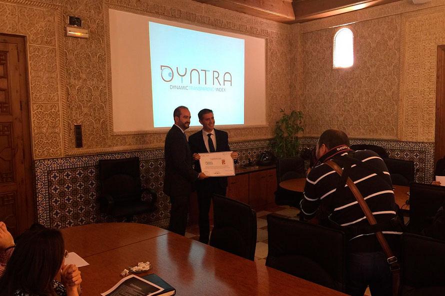 Entrega de Premios Dyntra 2015 Castilla-La Mancha