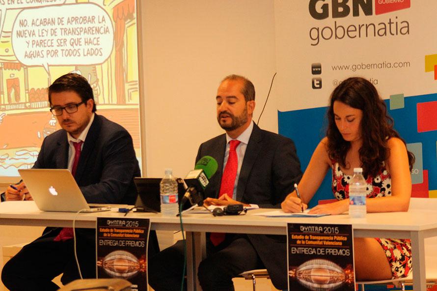 Presentación del I Estudio de Transparencia de la Comunidad Valenciana