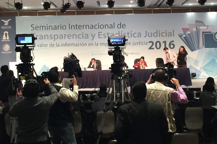 IX Seminario Internacional de Transparencia y Estadística Judicial 2016