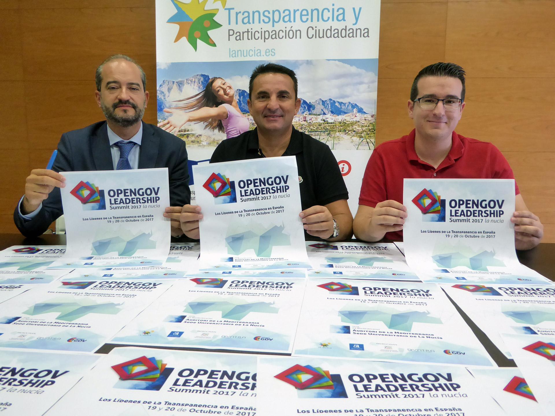 La Nucía acoge el congreso Los Líderes de la Transparencia en España