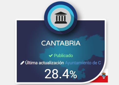La Plataforma Dyntra evalúa la transparencia  de los Ayuntamientos Cántabros