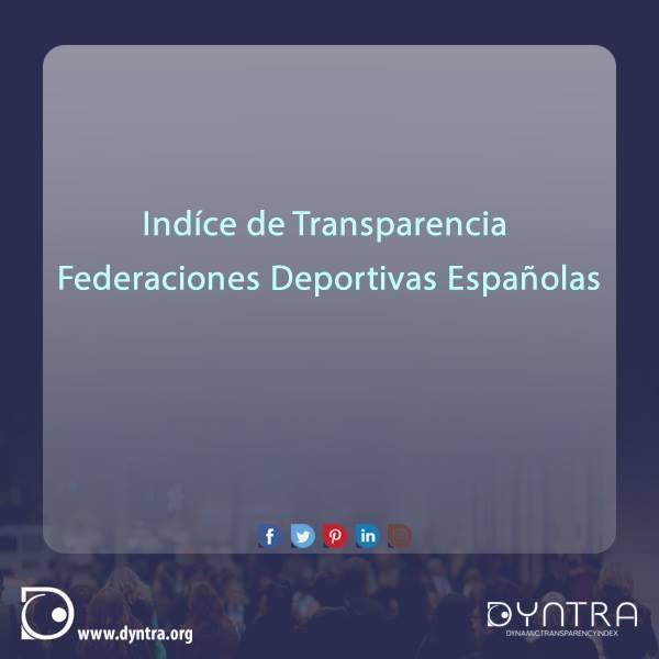 Estudio sobre la Transparenciade las Federaciones Deportivas