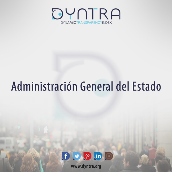 The Dyntra Platform evaluates the transparency of the General State Administration