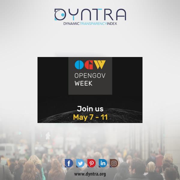 Dyntra participe à la OpenGov Week 2018